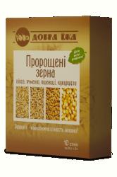 Проросшие зерна в стиках